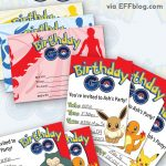 Pokémon Go: Birthday Go Free Printable Invitations | Pokemon Go   Free Printable Pokemon Birthday Invitations