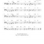 Pomp And Circumstance (Land Of Hope And Glory), Free Cello Sheet   Free Printable Sheet Music Pomp And Circumstance
