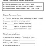 Possessive Nouns Worksheet: Singular And Plural Nouns   All Esl   Free Printable Possessive Nouns Worksheets
