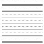 Practice Makes Perfect! Blank Alphabet Practice Sheet | Lotty Learns   Blank Handwriting Worksheets Printable Free