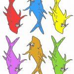 Pre K Tweets: Free Printable Dr. Suess Fish! | Ymca Activities | Dr   Free Printable Dr Seuss Clip Art