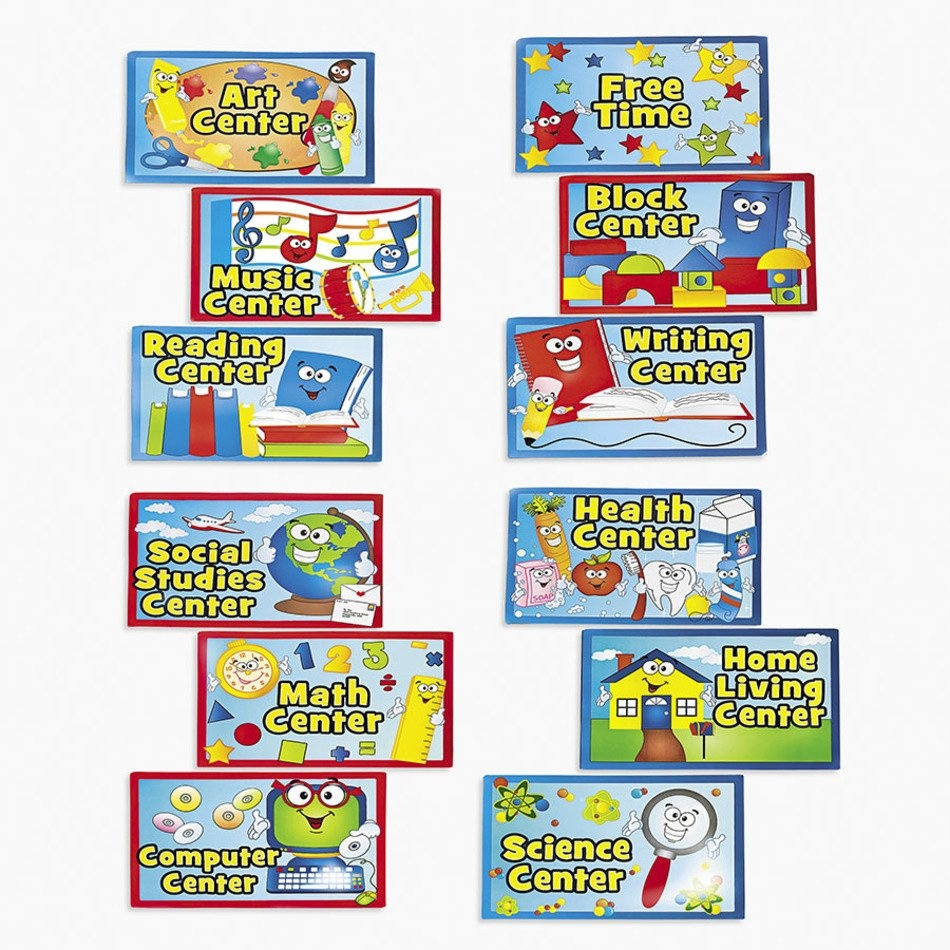 Preschool Classroom Center Signs Printable N7 Free Image - Free Printable Center Signs For Pre K
