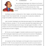 President's Day Coloring Worksheet | George Washington Worksheets   Free Printable President Worksheets