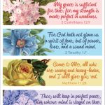 Pretty Printable Scripture Bookmarks   Flanders Family Homelife   Free Printable Inspirational Bible Verses