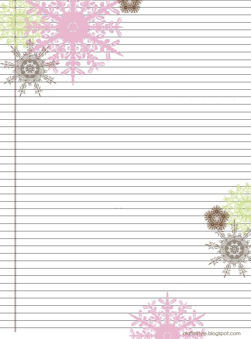 Pretty Printable Stationery Free | Stationery Products | Printable - Free Printable Stationary