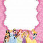 Princess Birthday Invitations Template Free Disney   Tutlin.psstech.co   Free Princess Printable Invitations