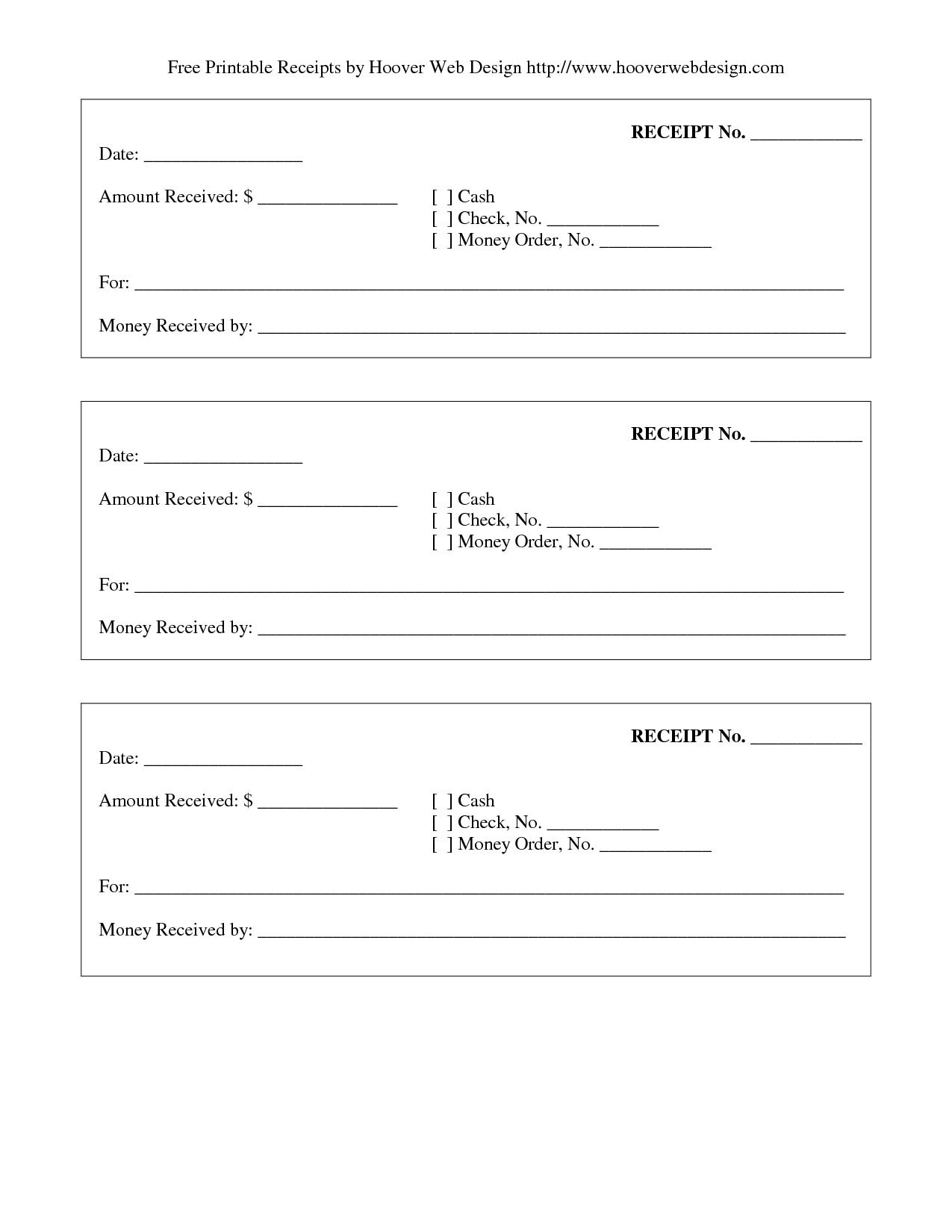 Print Receipt | Free Printable Receipt | Stuff To Buy In 2019 - Free Printable Receipts