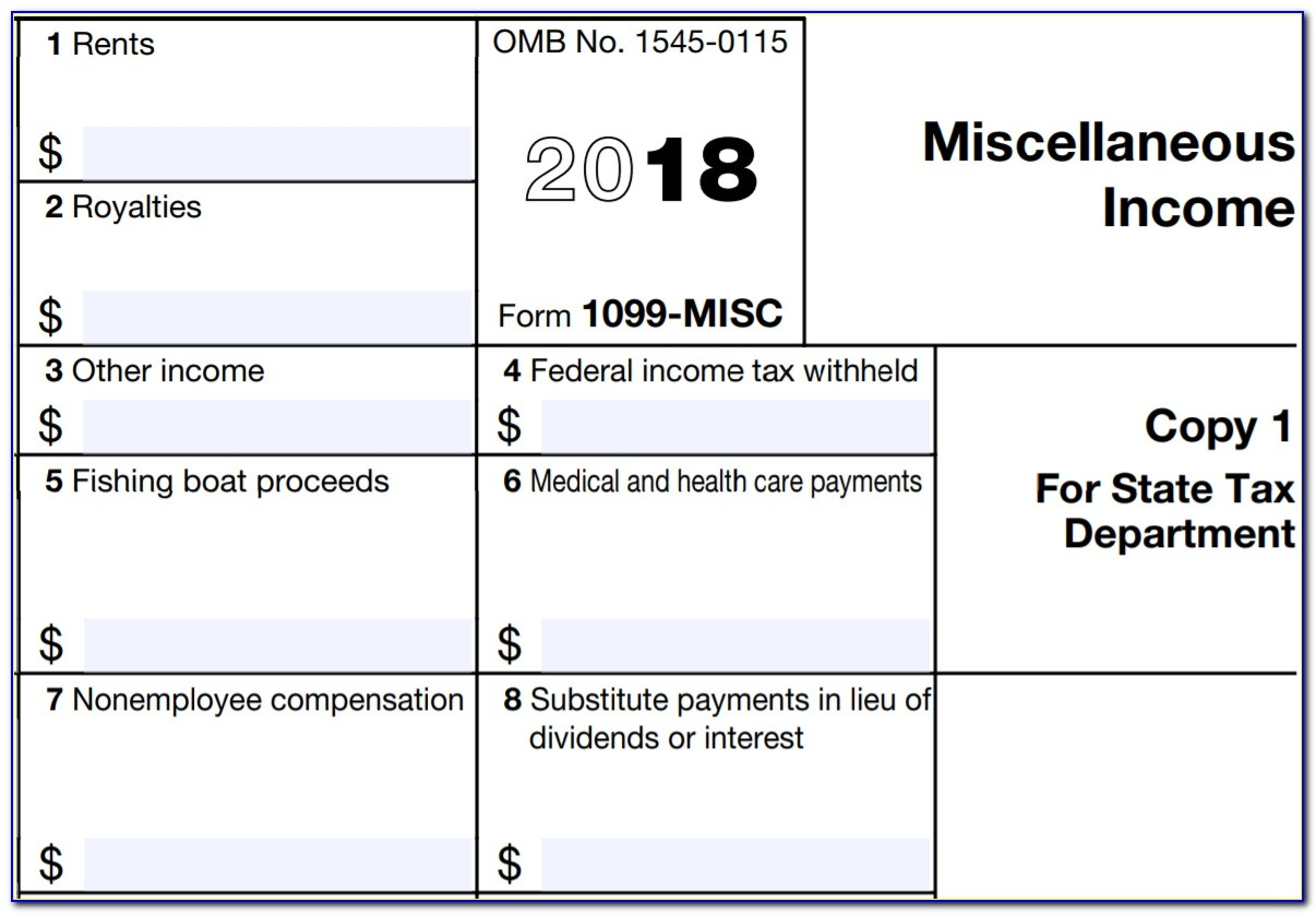 Printable 1099 Misc Form 2015 - Form : Resume Examples #ngloodzlbw - Free Printable 1099 Form 2016