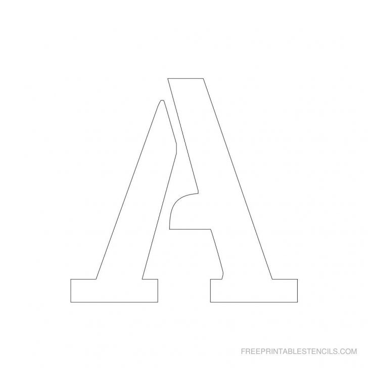 Free Printable 8 Inch Letters