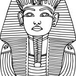 Printable Ancient Egypt Pharaoh Coloring Pages | Education | Egypt   Free Printable Sarcophagus