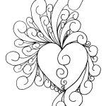 Printable Art Work   Heart Of Intricate~Shinobitokobot On   Free Printable Quilling Patterns
