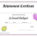 Printable Award Certificates For Teachers | Good Helper Printable   Free Printable Certificates For Teachers