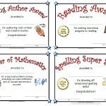Printable Awards   Free Printable Award Certificates For Elementary Students