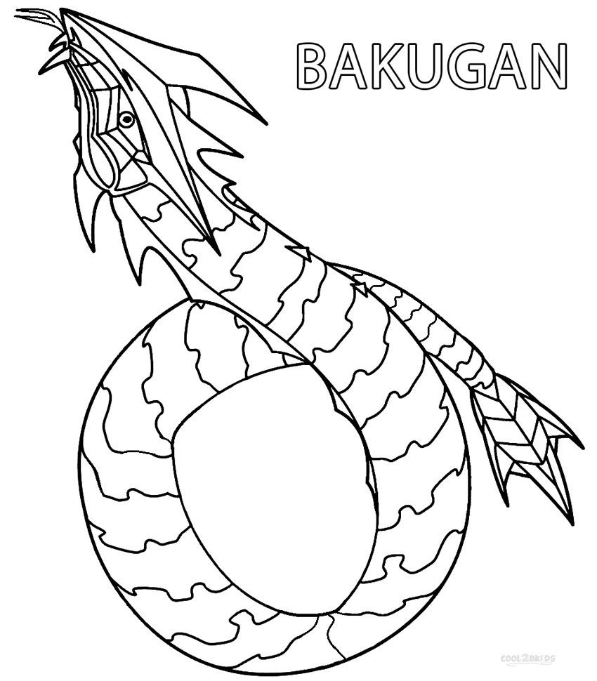 Printable Bakugan Coloring Pages For Kids | Cool2Bkids - Printable Bakugan Coloring Pages Free