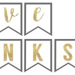 Printable Banners For Thanksgiving – Happy Easter & Thanksgiving 2018   Free Printable Happy Thanksgiving Banner