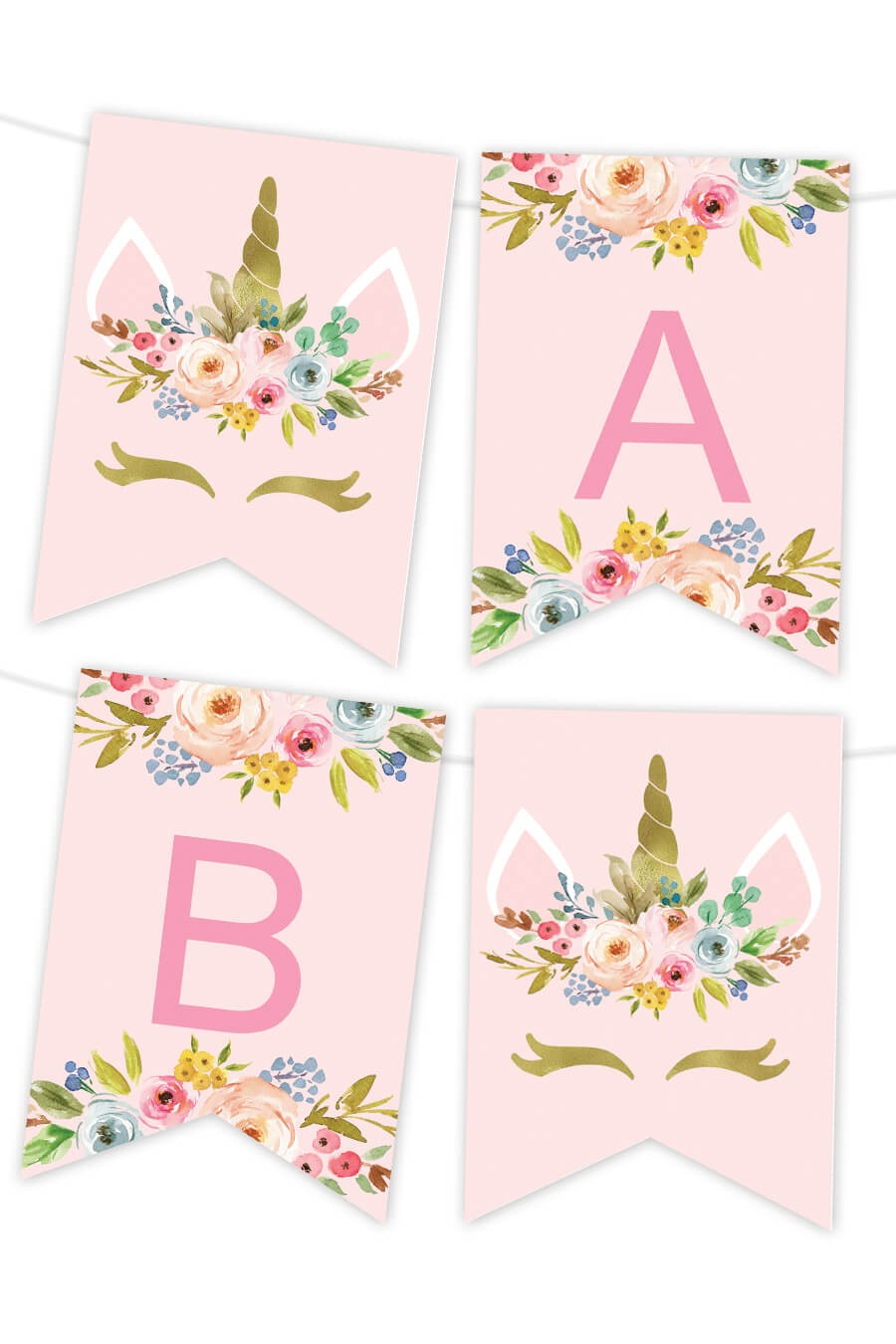 Printable Banners - Make Your Own Banners With Our Printable Templates - Free Printable Happy Birthday Banner