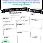 Printable Bible Study Guide | Jeff's | Bible Study Guide, Scripture   Free Printable Bible Lessons For Women