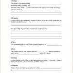 Printable Blank Rental Lease Agreement   Mandanlibrary   Blank Lease Agreement Free Printable