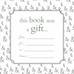 Printable Bookplates For Donated Books | Labels For Book | Books   Free Printable Christmas Bookplates