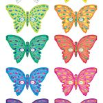 Printable Butterfly Masks   Coolest Free Printables | Saving In 2019   Free Printable Butterfly