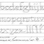 Printable Calligraphy Practice Worksheets   Bill's Space   Free Printable Calligraphy Worksheets