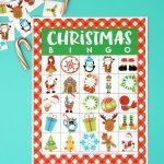 Printable Christmas Bingo Game   Happiness Is Homemade   Free Christmas Bingo Game Printable