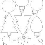 Printable Christmas Envelope |  For Christmas Shapes For Gift   Free Printable Christmas Cutouts
