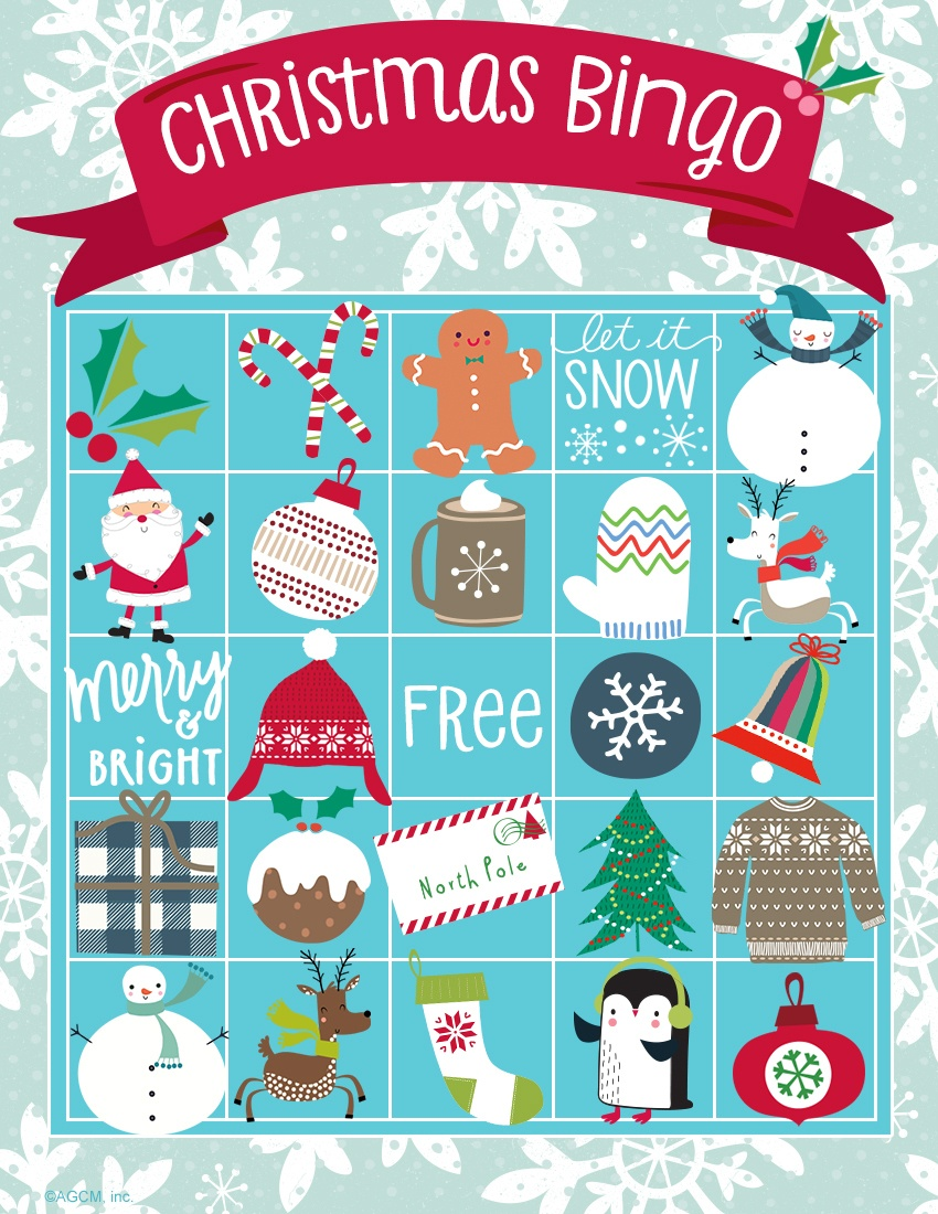Printable Christmas Games | Blue Mountain - Blue Mountain Cards Free Printable