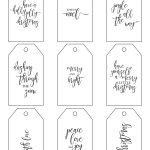 Printable Christmas Gift Tags Make Holiday Wrapping Simple   Diy Christmas Gift Tags Free Printable