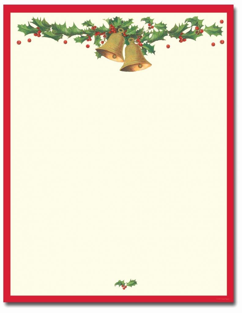 Printable Christmas Letterhead Templates Free Printable Christmas - Free Printable Christmas Letterhead