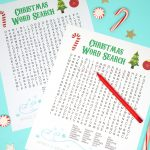 Printable Christmas Word Search For Kids & Adults   Happiness Is   Free Printable Christmas Word Search Pages
