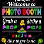 Printable Cinco De Mayo Photo Booth Props/ Mexican Fiesta Props   Free Printable Cinco De Mayo Photo Booth Props