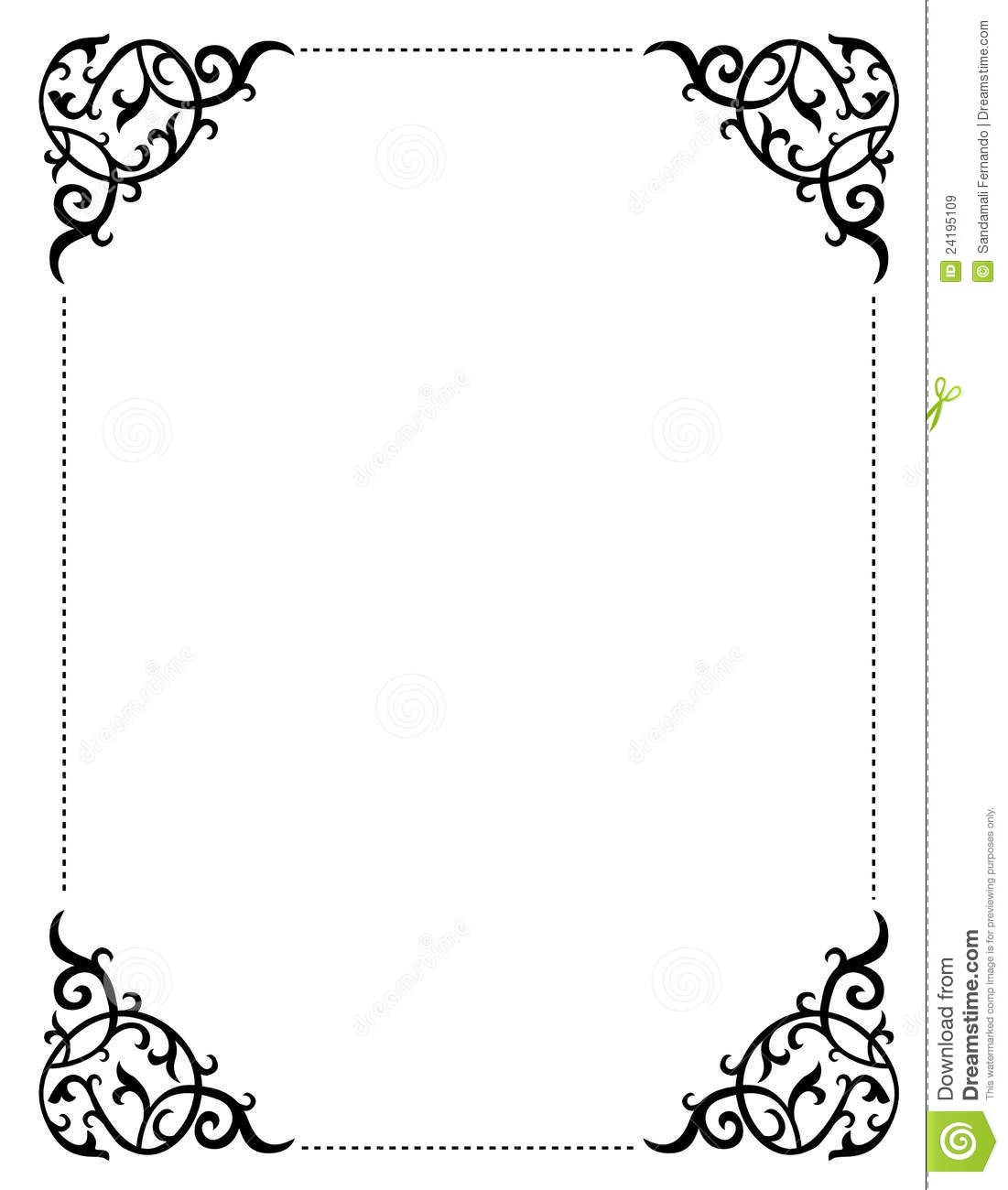 Printable Clipart Borders   Free Download Best Printable Clipart - Free Printable Borders