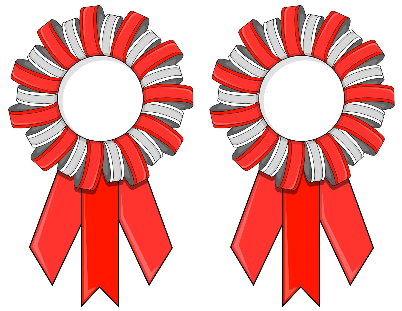 Printable Contest Ribbons Or Tournament Ribbons - Free Printable Ribbons
