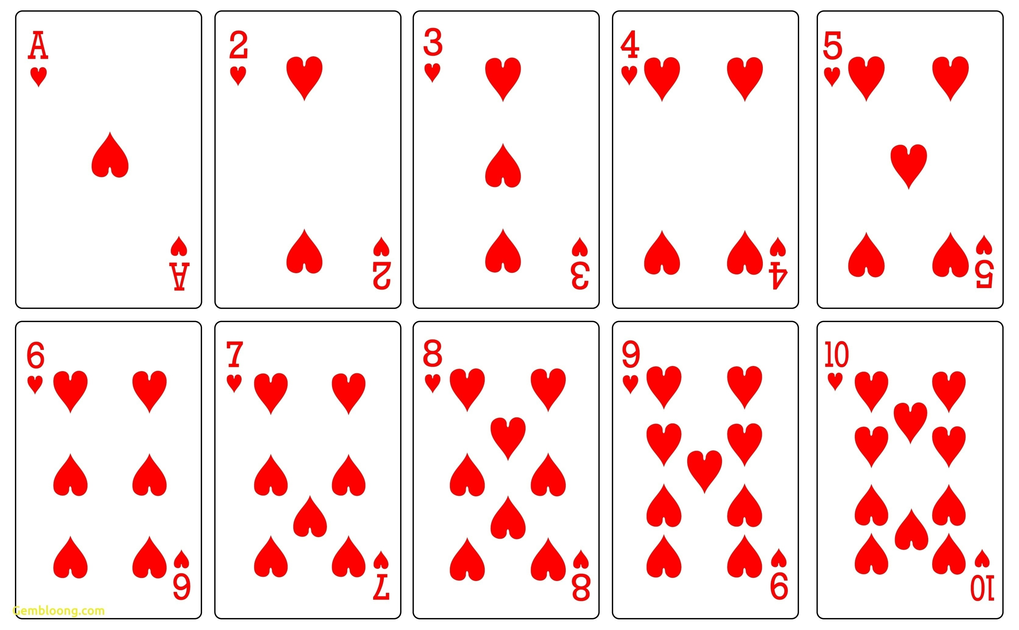 Printable Deck Of Cards - Demir.iso-Consulting.co - Free Printable Deck Of Cards