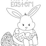 Printable Easter Coloring Pages Coloring Pages Download Rabbit   Free Printable Easter Coloring Pictures