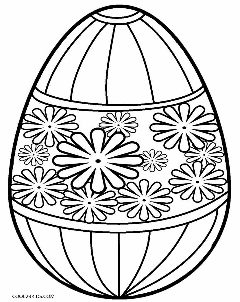 Printable Easter Egg Coloring Pages For Kids | Cool2Bkids - Free Printable Easter Basket Coloring Pages