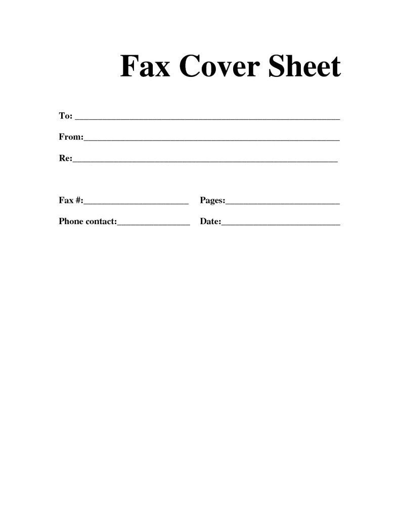 Printable Fax Cover Sheet Template Futuristic Vision Professional - Free Printable Cover Letter For Fax