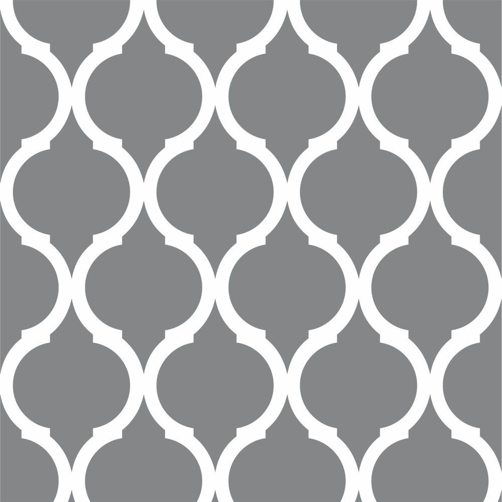 Printable Geometric Wall Stencils Industrial Expansive   Home Decor - Free Printable Wall Stencils For Painting