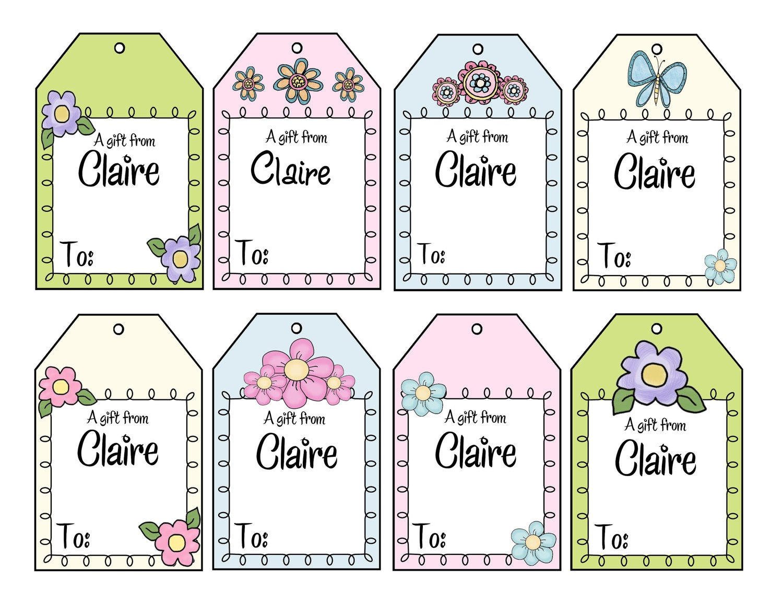 Printable Gift Tags Customized Free Printable Gift Tags Personalized - Free Printable Gift Tags Personalized