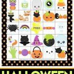 Printable Halloween Bingo Cards   This Halloween Bingo Game Is A Ton   Free Printable Halloween Bingo