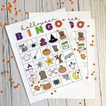 Printable Halloween Bingo   Free Printable Halloween Bingo