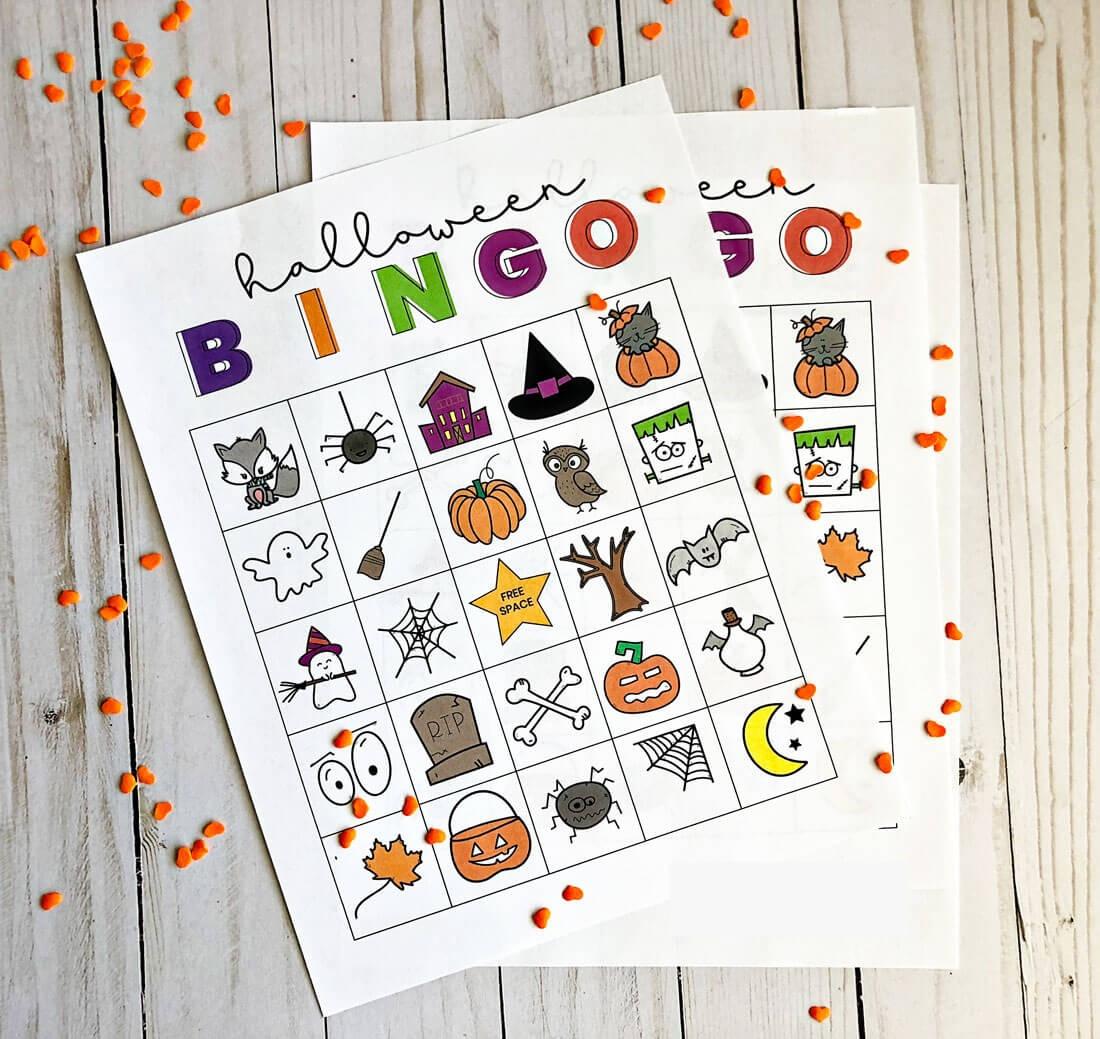 Printable Halloween Bingo - Free Printable Halloween Bingo
