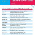 Printable Handouts About Acne   Porespective™   Free Printable Patient Education Handouts