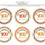 Printable Happy Thanksgiving Tags | Happy Thanksgiving… Free   Free Printable Happy Thanksgiving Banner