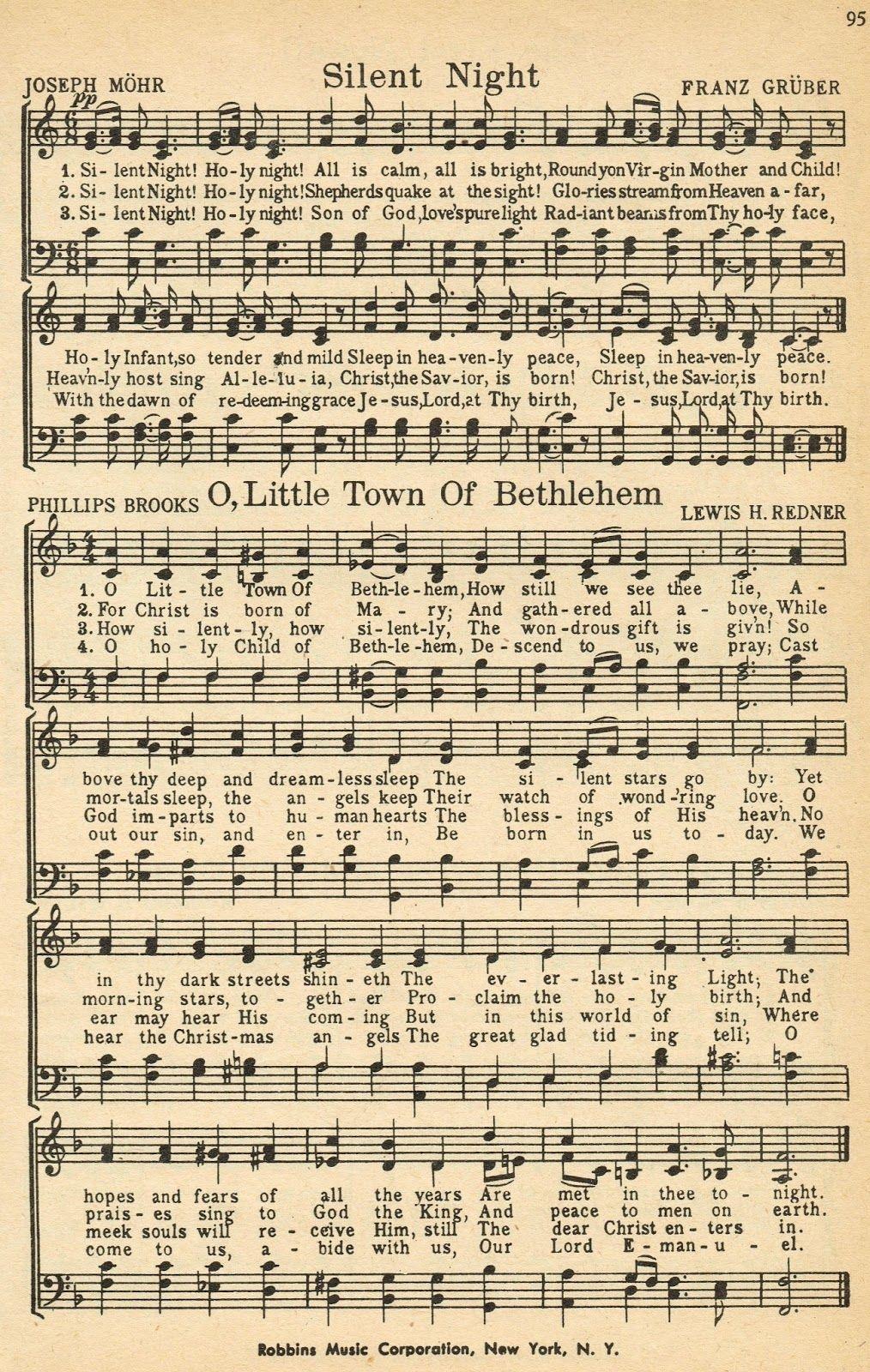 Printable Hymnal Pages - Google Search | Journal {Diy} | Christmas - Christmas Carols Sheet Music Free Printable