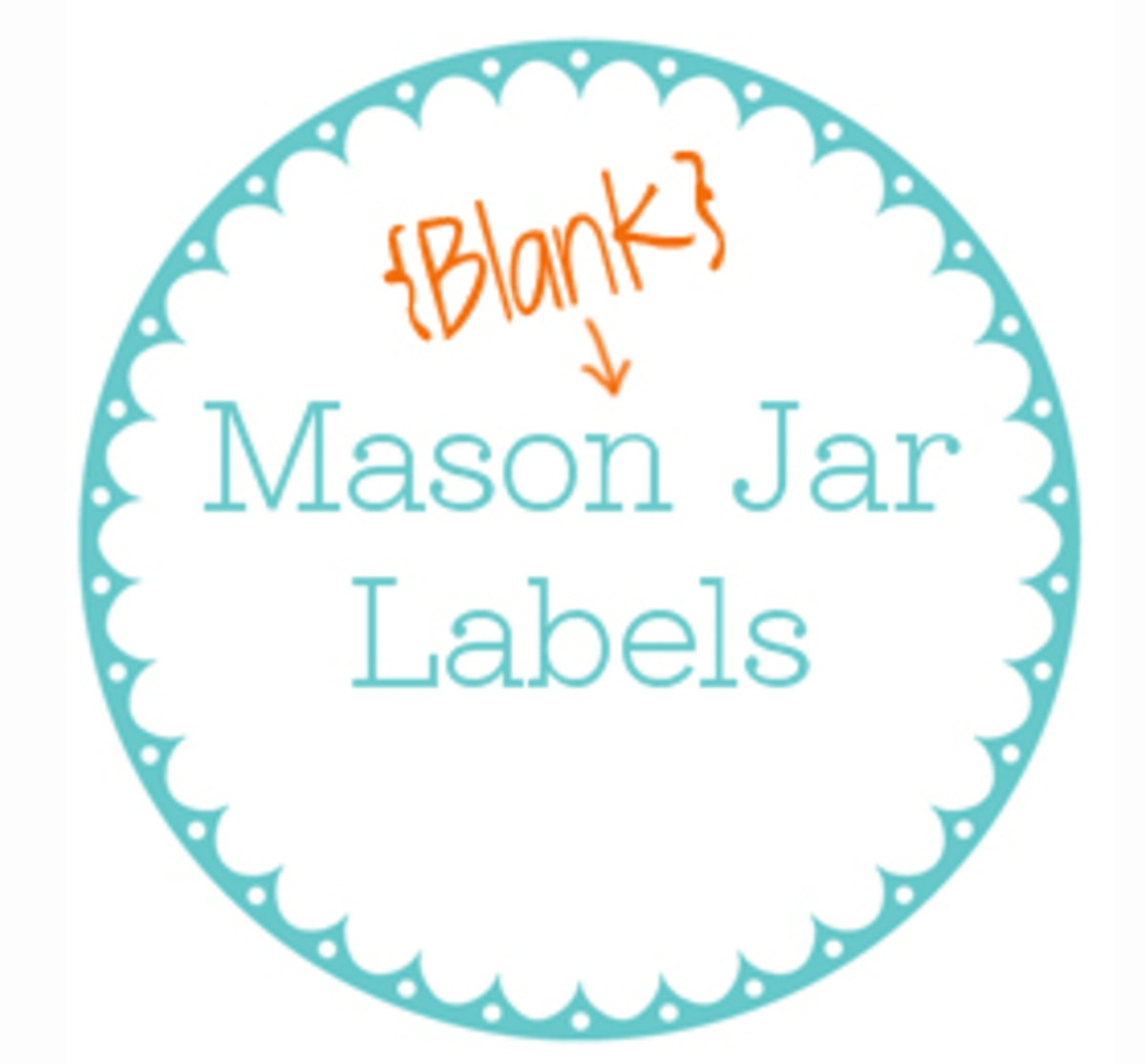 Printable Jar Label Template - Today's Mama - Free Printable Mason Jar Labels Template