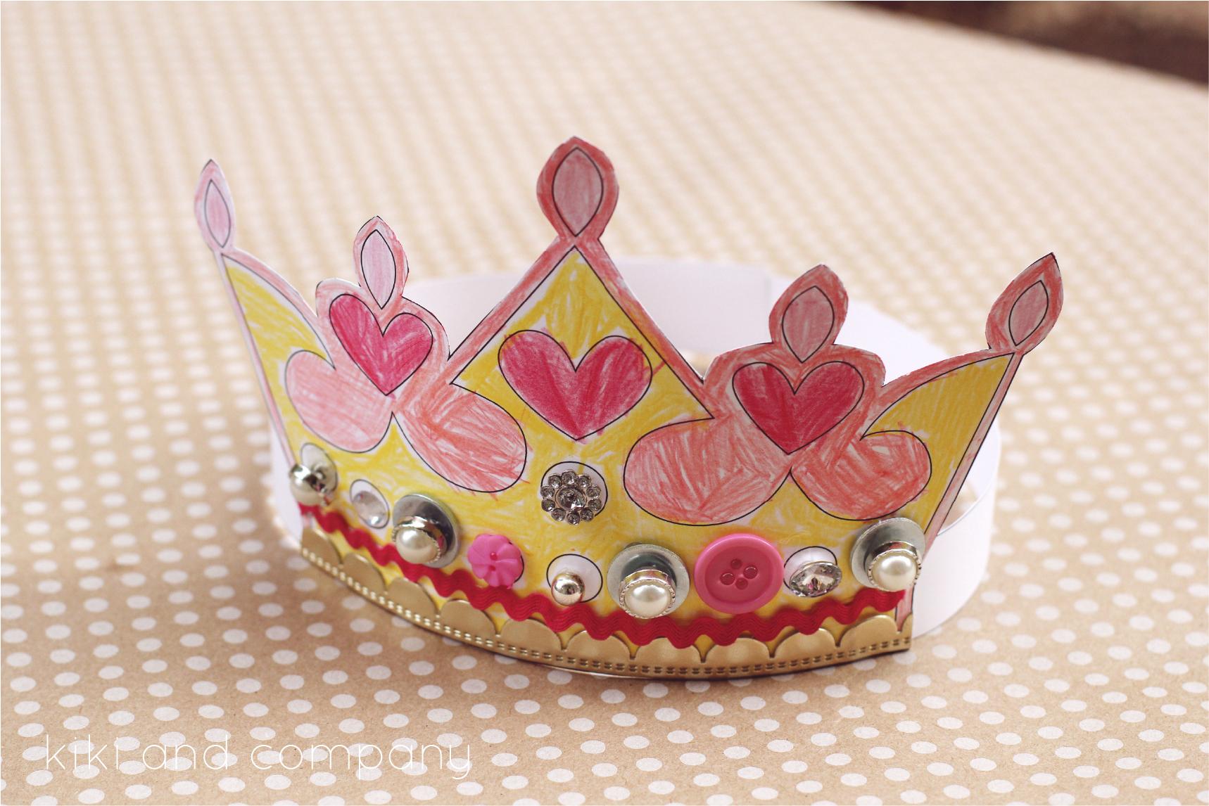 Printable Kings And Queens Crown {Free Printable} | Crafts | King - Free Printable Crown