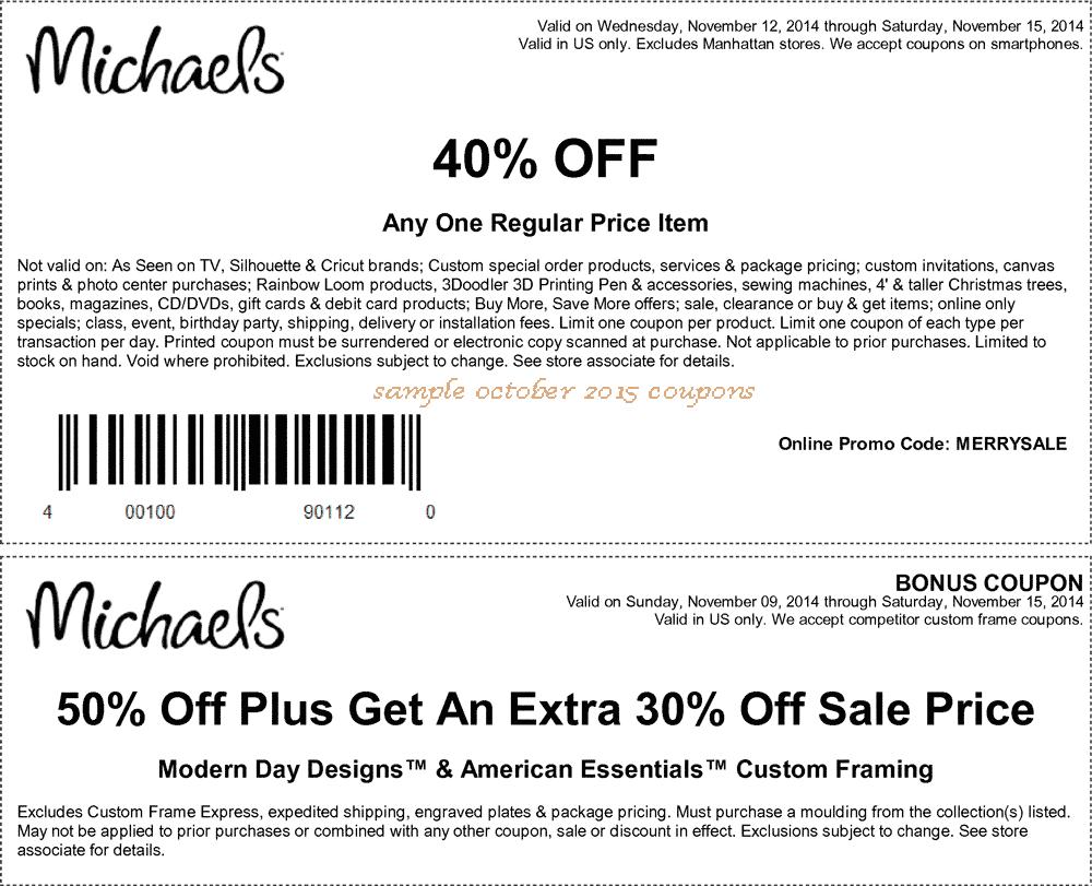 Printable Michaels Coupons 2018 - Ndz Performance Coupon Code - Free Printable Michaels Coupons
