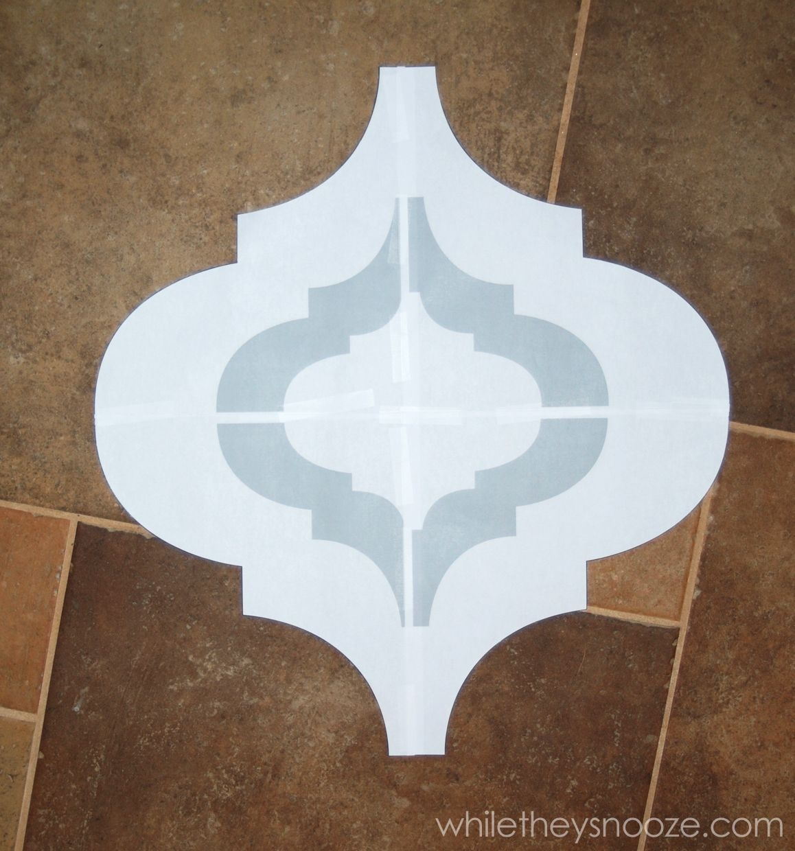 Printable Moroccan Stencils   Free Stencils Collection Print And Cut - Free Printable Moroccan Wall Stencils